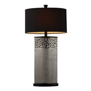 Silver Plated Table Lamp - MEK2372