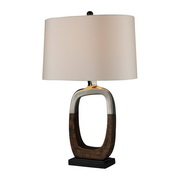 Silver Plating And Bronze Table Lamp - MEK2373