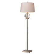 Silver Leaf Floor Lamp - MEK2375
