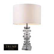 Clear Crystal Table Lamp - MEK2378