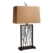 Aria Bronze And Iron Table Lamp - MEK2382