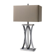 Chrome Table Lamp - MEK2421
