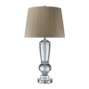Clear Crystal Table Lamp - MEK2429