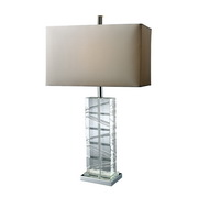 Chrome And Crystal Table Lamp - MEK2431
