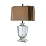 Clear Crystal Table Lamp - MEK2432