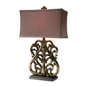 Oriole Gold Table Lamp - MEK2443