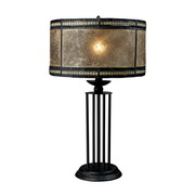 Antique Black Table Lamp - MEK2446