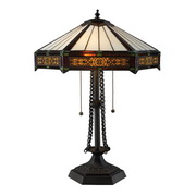 Tiffany Bronze Table Lamp - MEK2448