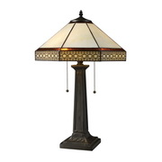 Tiffany Bronze Table Lamp - MEK2449