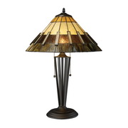 Tiffany Bronze Table Lamp - MEK2450