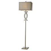 Polished Nickel Floor Lamp - MEK2453