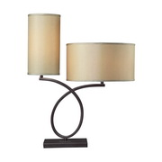 Aged Bronze Table Lamp - MEK2471