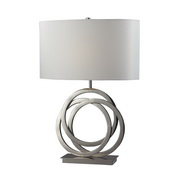 Polished Nickel Table Lamp - MEK2477