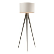 Satin Nickel Floor Lamp - MEK2484