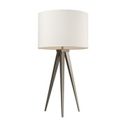 Satin Nickel Table Lamp - MEK2485