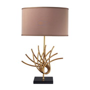 Gold Leaf Table Lamp - MEK2493