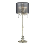 Silver Leaf Buffet Lamp - MEK2511