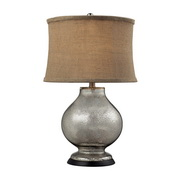 Antique Mercury Glass Table Lamp - MEK2527