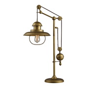 Antique Brass Table Lamp - MEK2533