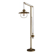 Antique Brass Floor Lamp - MEK2534
