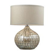Cream Pearl Table Lamp - MEK2542
