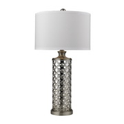 Brushed Nickel Table Lamp - MEK2555