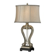 Silver Leaf Table Lamp - MEK2574