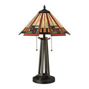 Tiffany Bronze Table Lamp - MEK2596