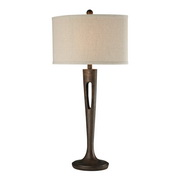 Burnished Bronze Table Lamp - MEK2598