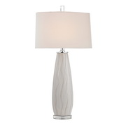 Washington White Table Lamp - MEK2624