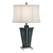 Basseterre Blue Table Lamp - MEK2626