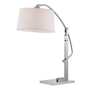 Polished Nickle Table Lamp - MEK2636
