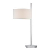 Polished Nickle Table Lamp - MEK2638