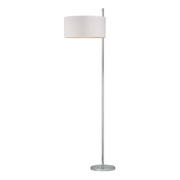 Polished Nickle Floor Lamp - MEK2639