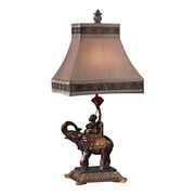 Brasilia Bronze Table Lamp - MEK2642