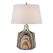 Technicolor Stripes Table Lamp - MEK2652