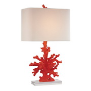 Red Coral Table Lamp - MEK2654