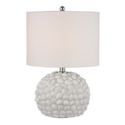 White Shell Table Lamp - MEK2657