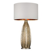 Antique Gold Mercury With Polished Nickel Table Lamp - MEK2689