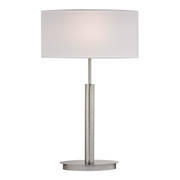 Satin Nickle Table Lamp - MEK2700