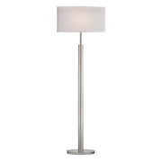 Satin Nickle Floor Lamp - MEK2701