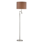 Satin Nickle Floor Lamp - MEK2703