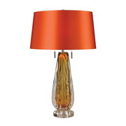Amber Table Lamp - MEK2719
