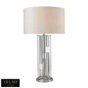 Chrome,clear Table Lamp - MEK2725