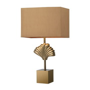 Aged Brass Table Lamp - MEK2727
