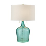 Seabreeze Blue Table Lamp - MEK2739