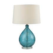 Teal Table Lamp - MEK2742