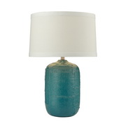 Mediterranean Blue Table Lamp - MEK2744