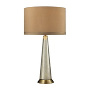Antique Mercury With Aged Brass Table Lamp - MEK2748
