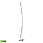 Chrome Floor Lamp - MEK2760